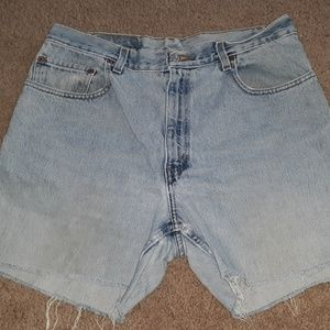 Vintage Levi's 560 red tab Cut-Offs Shorts